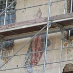 Villa Bader mit Fassadenbemalung von Carl Dehner