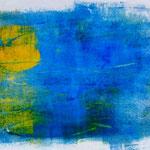 O.T., 2015, Monotypie, Acryl, 16,5 x 20,0 cm