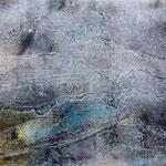 O.T.14, 2015, Monotypie, Acryl, 13,5 x 18,5 cm