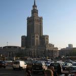 kurzer Aufenthalt in Warschau
