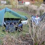 kalt... kälter... camping