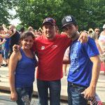 Yanitse, DJ David Pedron et Alian