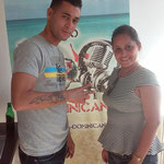 Alian et Yanitse à la radio Bachata Dominicana