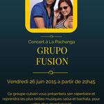 Alian et Yanitse - Grupo Fusion - concert à la Pachanga à Paris Montparnasse