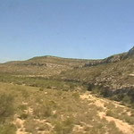 Zugsfahrt Richtung New Mexico