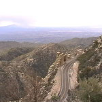 Der Hügel ist 3000 müM - damit hatte ich nicht gerechnet!
