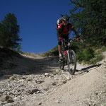Biken in den französischen Alpen