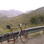 Aufstieg auf Hügel hinter Tuscon