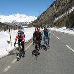Unterwegs am Bernina Richtung Slovenien