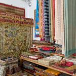 Nappes, dessus de lit, tapis du Cachemire...