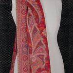 ETX 20 (étole en laine aux motifs Cachemire tissés)