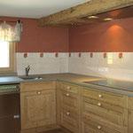Küche im Kreativ Chalet Unterboden 5