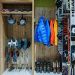 Ski- /Fahrrad Gepäckraum mit Waschmaschine und Trockner im Chalet Edelweiß