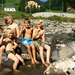 Coole Jungs unter sich... Ferien im Kreativ Chalet