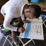 飯田ボンシャスの福島晋一選手!