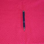 Stoff Punkte 16 - Pink/kleine Punkte Rosa