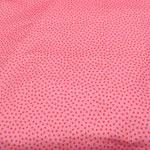 Stoff Punkte 4 - Rosa/Rot - Kleine Punkte