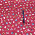 Stoff Beere - Bunte Blüten