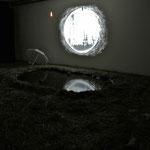記憶のアポトーシス(2013,ATLAS展)installation