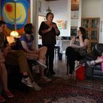 Gespräch mit Friedensaktivistin in Netiv HaAsara