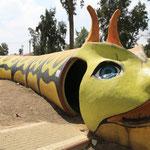 Spielplatz mit Schutzraum in Sderot