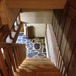 cage escalier à l'étage