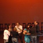 Roma. Teatro Vascello. Sul palco dopo Astutillo e il potere dell'anello