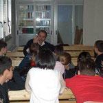 Roma, E. Loi. Parlando dei miei libri in biblioteca