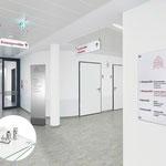 Schildersystem GALERIE - Türschilder, Wegweiser, Fahnenschild, Deckenhänger, Innenaufsteller