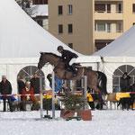 Bänz mit Spirit am CS St. Moritz