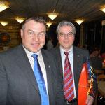 Vize-Präsident Beni Carlen mit Zentralpräsident Marco Reichmuth