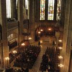 Die prächtige Kulisse der Elisabethenkirche