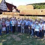 Die Gießener Sparkassen-Senioren auf Tour (Foto: Erich Hohn)