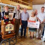 Spendenübergabe an den Bürgerverein Oppenrod (Foto: Hans Pfaff)
