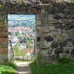 Blick von Burg Staufenberg (Foto: Hans Pfaff)