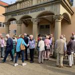 Besichtigung des Jagdschlosses Kranichstein (Foto: Hans Pfaff)