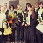 2009 Cresima a Rentsch con la nostra nuova direttrice Cornelia