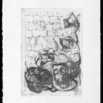 Vines etching