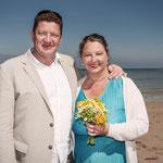Strandhochzeit Detlef & Corinna