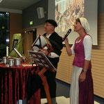 Das Beutelsbacher Pfarrersehepaar Rainer und Mechthild Köpf als Martin und Käthe Luther