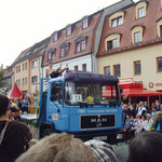 MPC2000-Männerchor, Auftritt auf dem Sängerfest in Finsterwalde, Hauptbühne Marktplatz