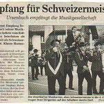 Pressebereicht 1992