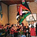 Fahnenweihe 2001
