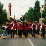 Heimkehr Eidg. Musikfest Interlaken 1996