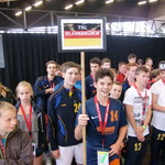 Eröffnungsfeier mit  31 Mannschaften aus sechs Nationen