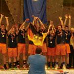 Überschwängliche Freude: Wir sind Worldcup-Sieger!!!