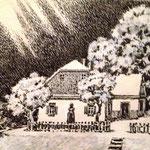 «Литературно-мемориальный музей им. Лэси Украинки», 1991, линогравюра