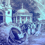 «Разгром Троицкой церкви», 1989, линогравюра