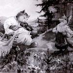 «Кот, Петушок и Лиса», 1957