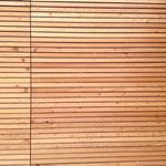 Holzverkleidung Innenhof Lärche